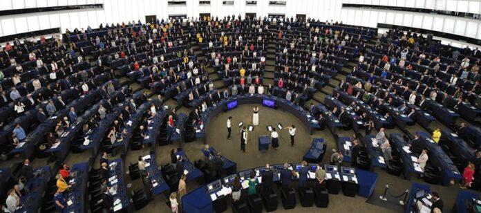 Vista general de una sesión del Parlamento Europeo en Estrasburgo (Francia). EFE/ Patrick Seeger/Archivo