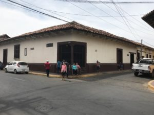 Casa Archivo Museo de Rubén Darío, esquina diagonal al colegio La Salle en León, NIcaragua.