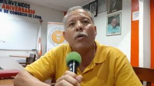Ing. Benito Rodriguez, presidente de la Cámara de Comercio León