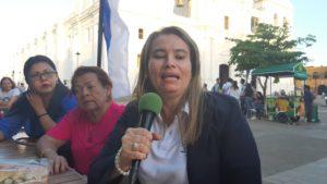 Representante de la Red de Mujeres Empresarias de Nicaragua