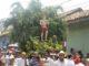La procesión de San Jerónimo o Chombito como le llaman los feligreses leoneses.