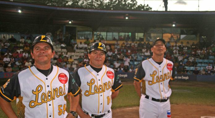 Dirigentes del equipo de los Leones del León.