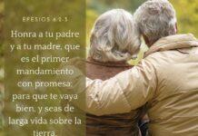 Mensaje bíblico: Honra a tu padre y a tu madre.