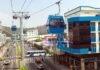 Fotografía cedida por el Municipio de Guayaquil de la Aerovía, un nuevo sistema de transporte de masas en la metrópolis costera, que servirá a 3 millones de personas, hoy en Quito (Ecuador). EFE/ Municipio Guayaquil