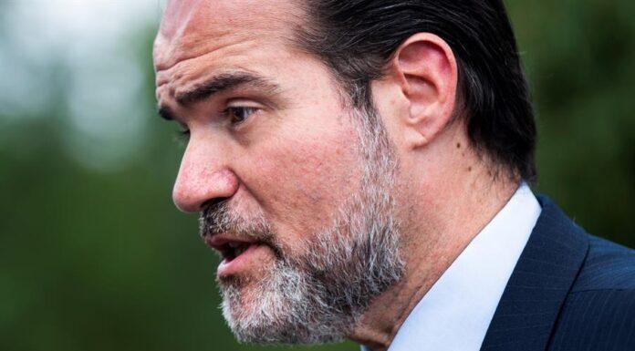 En la imagen, el presidente del Banco Interamericano de Desarrollo (BID), Mauricio Claver-Carone. EFE/Jim Lo Scalzo/Archivo