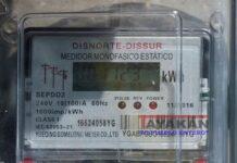 Detalle de un medidor de electricidad en un barrio de Managua, 19 de septiembre de 2019. EFE/Jorge Torres/Archivo