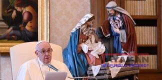 El papa Francisco en la audiencia general del miércoles, 16 de diciembre. EFE/EPA/VATICAN MEDIA HANDOUT