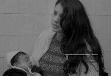 """Fotografía cedida de la grabación de """"Niña mamá"""", de la cinesta Andrea Testa, en la que se ve a Marcela, una de las protagonistas del documental. EFE/Cedida por la productora Pensar con las Manos"""