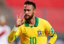 El jugador brasileño Neymar. EFE/Paolo Aguilar/Archivo